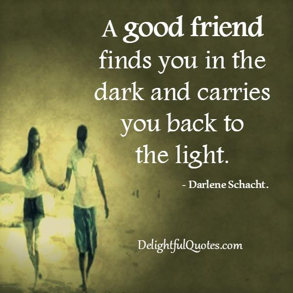 A Good Friend Quote: A Strong Friendship Doesn't Need Daily Conversation