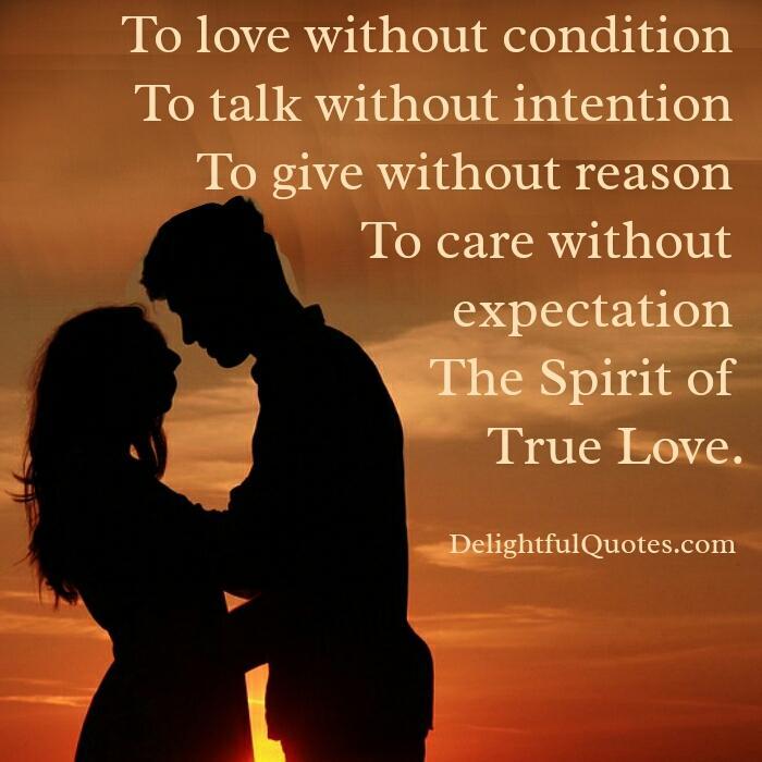 The Spirit of True Love